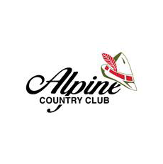 Logo of golf course named Alpine Country Club