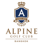 Logo of golf course named Alpine Golf Club