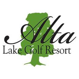 Logo of golf course named Alta Lake Golf Resort