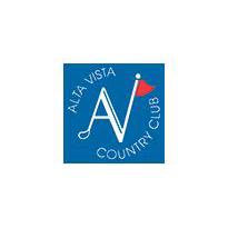 Logo of golf course named Alta Vista Country Club