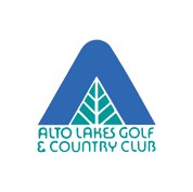 Logo of golf course named Alto Lakes Golf and Country Club