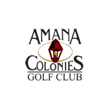 Logo of golf course named Amana Colonies Golf Course