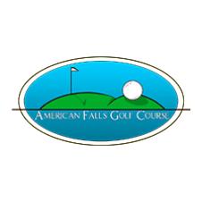 Logo of golf course named American Falls Golf Course
