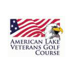 Logo of golf course named American Lake Veterans Golf Course