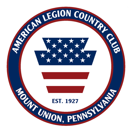 Logo of golf course named American Legion Country Club