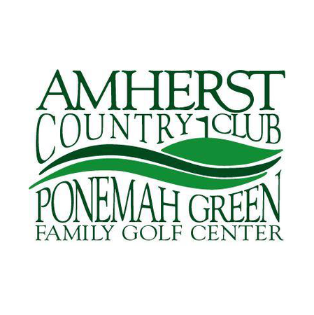 Logo of golf course named Amherst Country Club, Inc.