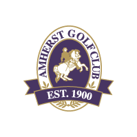 Logo of golf course named Amherst Golf Club