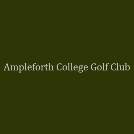 Logo of golf course named Ampleforth College Golf Club