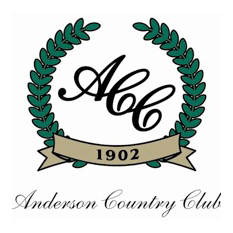 Logo of golf course named Anderson Country Club