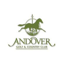 Logo of golf course named Andover Golf and Country Club
