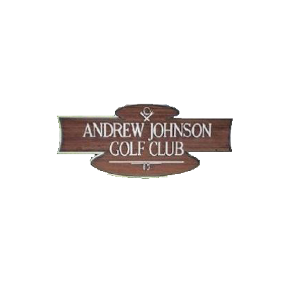 Logo of golf course named Andrew Johnson Golf Club