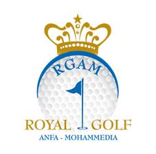 Logo of golf course named Anfa Royal Golf Club