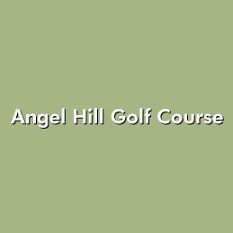 Logo of golf course named Angel Hill Golf Course