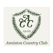 Logo of golf course named Anniston