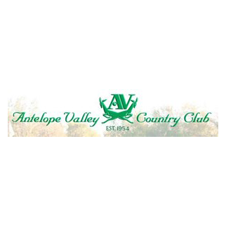 Logo of golf course named Antelope Valley Country Club