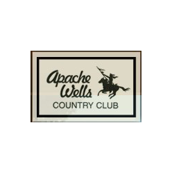 Logo of golf course named Apache Wells Country Club
