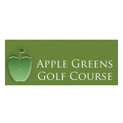 Logo of golf course named Apple Greens Golf Course