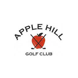 Logo of golf course named Apple Hill Golf Club