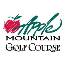 Logo of golf course named Apple Mountain