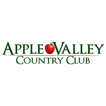 Logo of golf course named Apple Valley Country Club