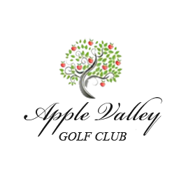 Logo of golf course named Apple Valley Golf Club