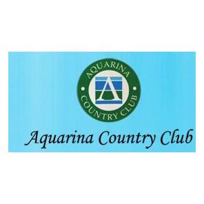 Logo of golf course named Aquarina Country Club