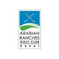 Logo of golf course named Arabian Ranches Golf Club