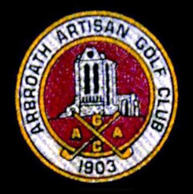Logo of golf course named Arbroath Golf Club
