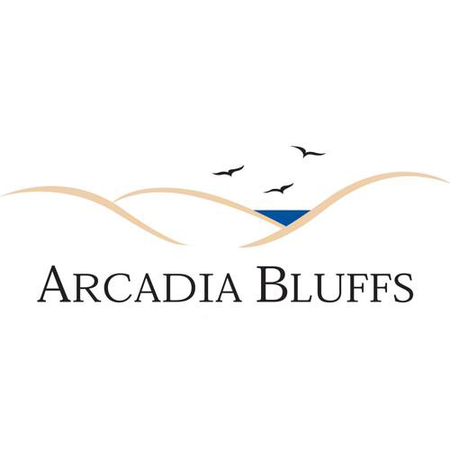 Logo of golf course named Arcadia Bluffs Golf Course