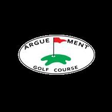 Logo of golf course named Argue-Ment Golf Course