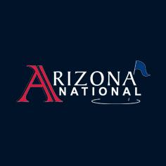 Logo of golf course named Arizona National Golf Club