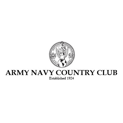 Logo of golf course named Army Navy Country Club - Arlington