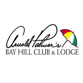 Logo of golf course named Arnold Palmer's Bay Hill Club and Lodge