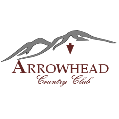 Logo of golf course named Arrowhead Country Club