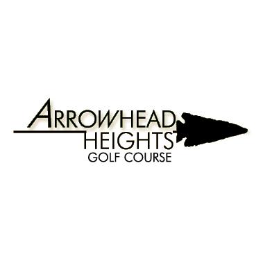Logo of golf course named Arrowhead Heights Golf Course