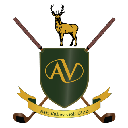 Logo of golf course named Ash Valley Golf Club