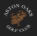 Logo of golf course named Aston Oaks Golf Club