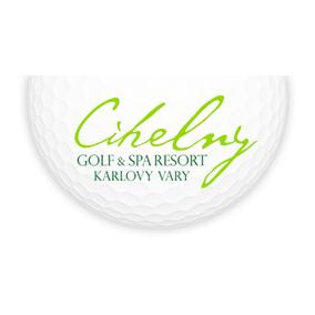 Logo of golf course named Astoria Golf Resort Cihelny