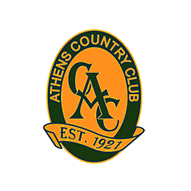 Logo of golf course named Athens Country Club
