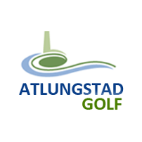 Logo of golf course named Atlungstad Golfklubb