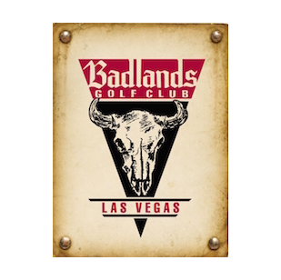 Logo of golf course named Badlands Golf Club