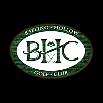 Logo of golf course named Baiting Hollow Club