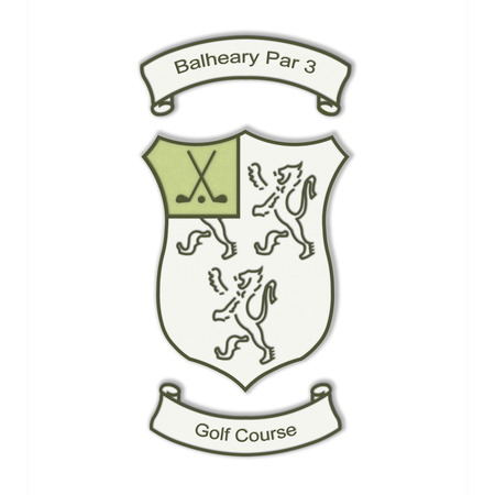 Logo of golf course named Balheary Open Golf Course