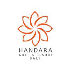 Logo of golf course named Bali Handara Golf and Country Club