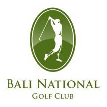 Logo of golf course named Bali National Golf Club