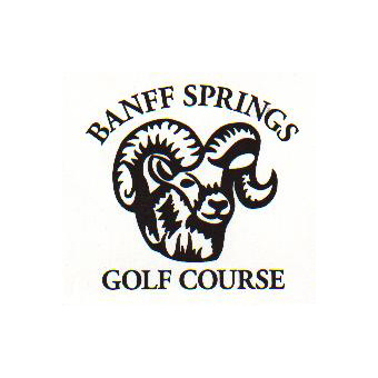 Logo of golf course named Banff Springs Golf Club