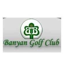 Logo of golf course named Banyan Golf Course