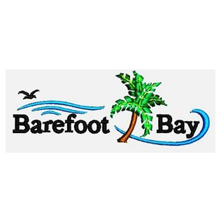 Logo of golf course named Barefoot Bay Golf and Recreation Park