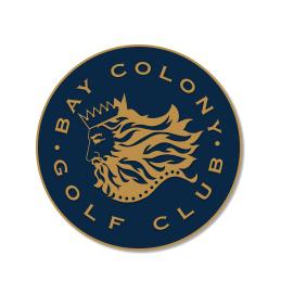 Logo of golf course named Bay Colony Golf Club