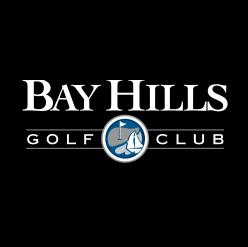 Logo of golf course named Bay Hills Golf Club